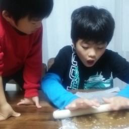 親子で米ぬかクッキング♪米ぬかクッキーのレシピ紹介。